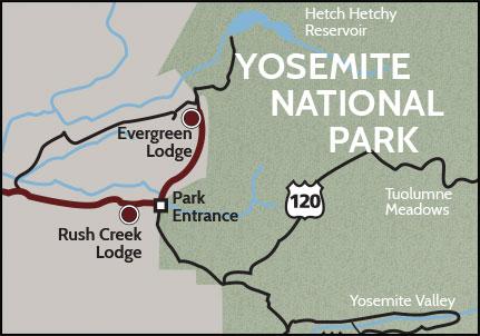 Yosemite Accommodation Map on grand canyon accommodations, redwood forest accommodations, camino de santiago accommodations, death valley accommodations, crater lake accommodations, bryce canyon accommodations, olympic national park accommodations, glacier national park accommodations, natchez trace accommodations, dry tortugas accommodations,