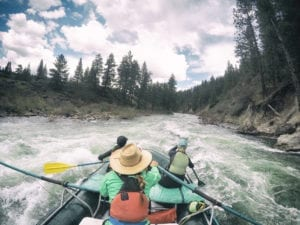 The start of white water rafting season makes spring one of the best times of year to visit Yosemite.